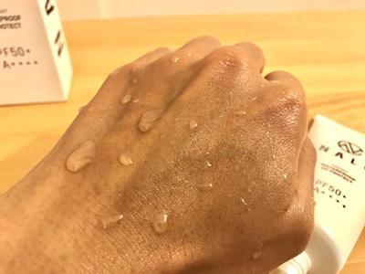 汗や水に強いNALC