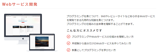 Webサービス開発