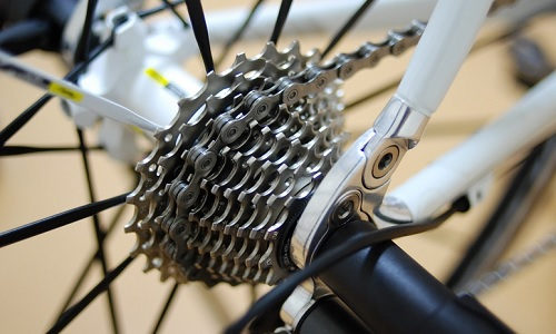 クロスバイクのギアチェンジの仕方