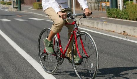自転車のタイヤ幅