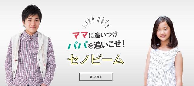 セノビーム公式サイト