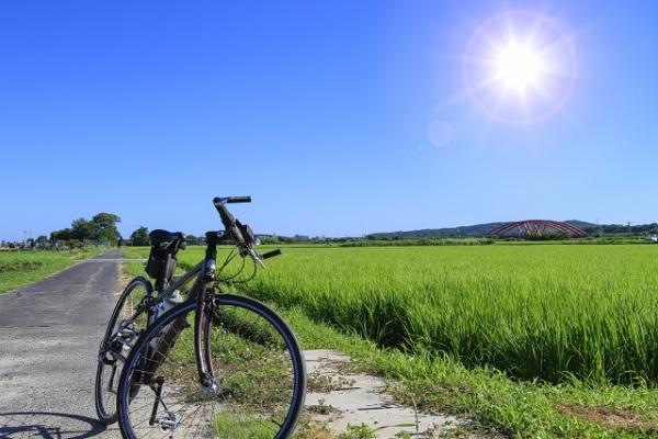 夏のサイクリングの暑さ対策