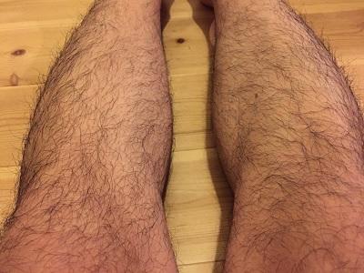モジャモジャの足